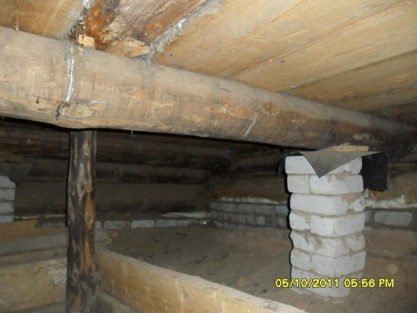 Утеплить пол в старом деревянном доме своими руками