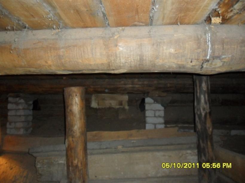 Подполье в доме фото