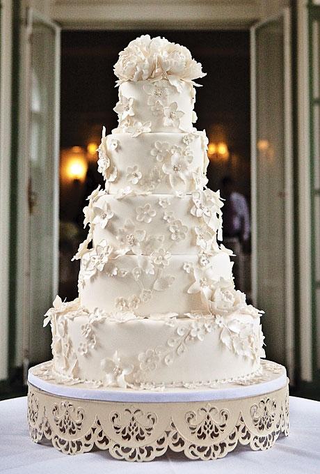 Самые красивые свадебные торты в мире фото