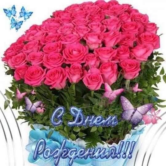 Поздравление роза с днем рождения