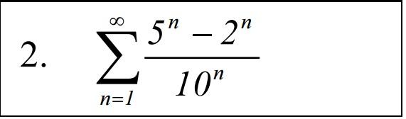 доказать сходимость ряда и найти его сумму
