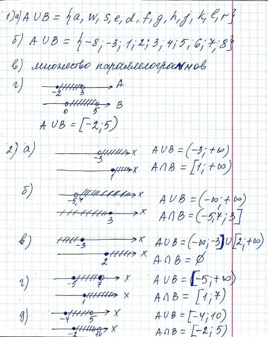 Решение задач на множества объединения и пересечения решение задач на проценты егэ смеси