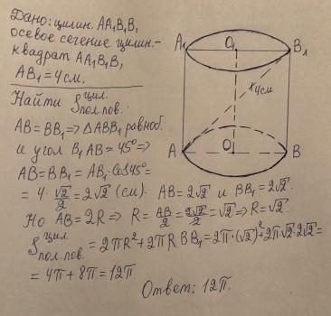 Решение задач осевое сечение цилиндра примеры решение задач векторной анализа